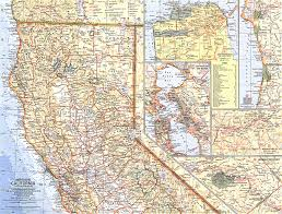 california map northern california map