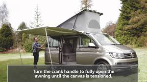T5 Awning The New Volkswagen California How To Side Awning And Camping
