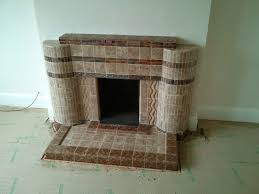 tiled fireplace transformation heart woodburners
