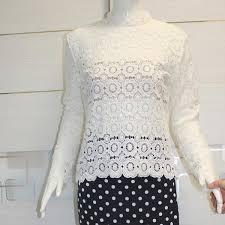 crochet blouses 2016 tops clothing fashion blusas femininas