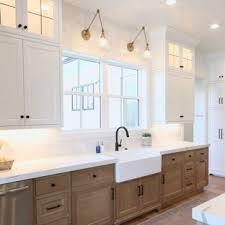 light kitchen cabinets countertops 75 beautiful kitchen with light wood cabinets and quartz