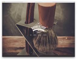 15 hair salon and barber shop wordpress themes 2017 colorlib