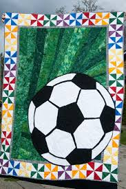 theme quilts 36 best quilts sports theme images on quilt blocks