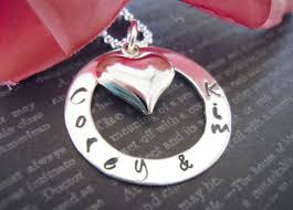 wedding keepsake gifts wedding gift and groom personalized sted jewelry