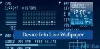 apk info device info live wallpaper apk 10 0 0 device info live