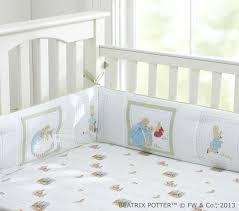 rabbit crib bedding rabbit baby bedding set pottery barn kids