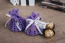 purple wedding favors kseniyarevta weddbook