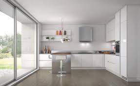 Contemporary Kitchen Inspiring White Kitchen Design For Apartment With Photos 3920