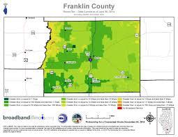 County Maps Franklin County Maps U2014 Broadband Illinois