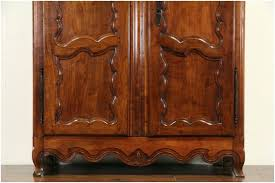 French Provincial Armoire Wardrobes Cherry Wardrobe Armoire Cherry Wood Clothing Armoire