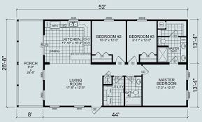 2 bedroom manufactured homes chion home floor plans modular 16