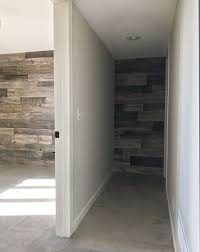 Barn Wood Basement Before And After Basement Bedroom Gets A Rustic Industrial