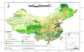 North China Plain Map by Remote Sensing Free Full Text Detecting The Temporal Scaling