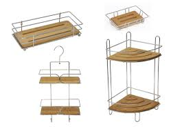 Bathroom Furniture Wood by Bath U0026 Shower Beautiful Free Standing Shower Caddy For Elegant