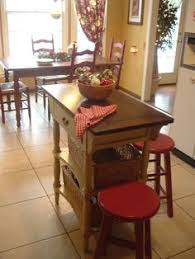 french country kitchen island worktable by katemadison com