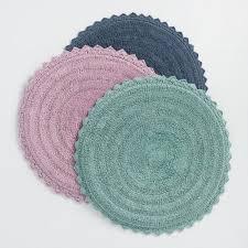 round cotton bath mat world market