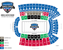 Dallas Cowboys Stadium Map by Lockheed Martin Armed Forces Bowl Tickets Afb
