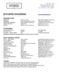 Special Skills In Resume Examples by Resume Jennifer Swiderski The Official Website