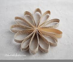 book page ornament tutorial