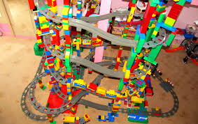 new lego duplo 11 level circuit mega buildings