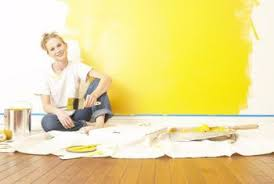 how to paint over bright yellow walls home guides sf gate