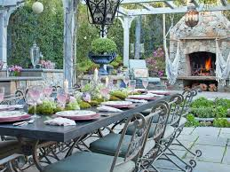 outdoor dining rooms cheap chic decor outdoor dining space ideas
