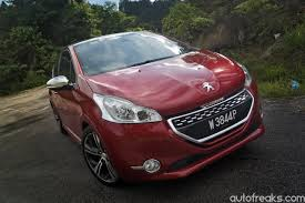 peugeot 208 gti test drive review peugeot 208 gti lowyat net cars
