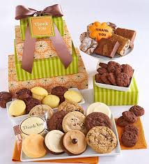 thank you bakery gift tower thank you gift ideas cheryls
