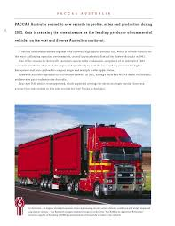 paccar truck sales paccar 02 paccarannual report