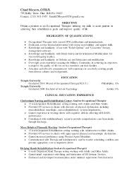 sample resume sle resume physical therapist for therapy