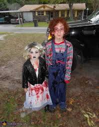 Chucky Halloween Costumes Chucky And Bride Of Chucky Halloween Costume