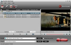 convert 3d blu ray to sbs mkv into hard drive and playback via