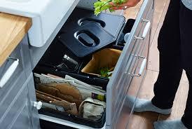 ikea cuisine poubelle tri des déchets aménagements intérieurs ikea