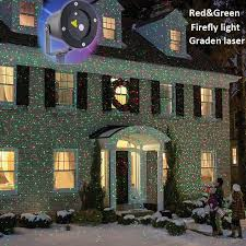 Outdoor Chrismas Lights Ip44 Waterproof Outdoor Lights Laser Projector
