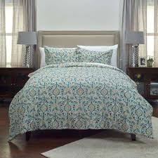 Rizzy Home Bedding Floral Comforters Bedding The Home Depot
