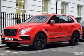 red bentley bentley bentayga 17 december 2016 autogespot