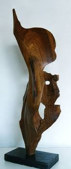 abstract wood carving sculpture endangered species carved wood abstract modern