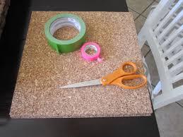 washi tape corkboard diy house to home blog