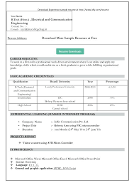 free simple resume templates simple resume format in word cliffordsphotography