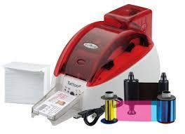 tattoo id card printer evolis tto201fru 00000 tvc id card printer system best price