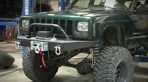 2000 jeep bumpers jeep xj winch bumper by country