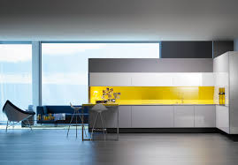 modern kitchen design yellow modern kitchen interior design by logoscoop roohome