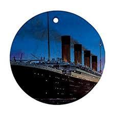 titanic ornament porcelain great gift