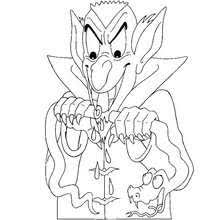 dracula u0027s son coloring pages hellokids