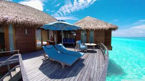 water bungalows in maldives resort hd desktop wallpaper high