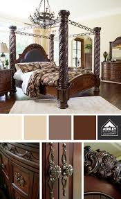 LOVE The Details And Elegant Style North Shore Poster Bed Set - Ashley furniture homestore bedroom sets