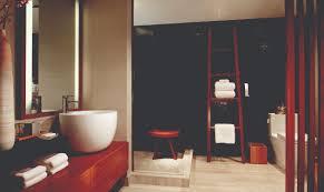 bathroom design at nobu hotel at caesars in las vegas nv
