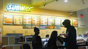 kuala lumpur malaysia circa june 2014 a subway fast food