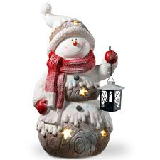 Lighted Snowman Outdoor Decoration by Snowflake Christmas Lights Christmas Decorations The Home Depot