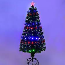 5 6 7 fiber optic artificial tree w led lights